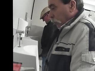 Beach spy toilet