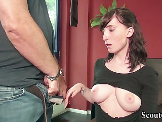 Castings GERMAN SCOUT - TEEN LIA LOUISE 3SOME BY OLD AND YOUNG MAN