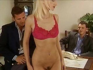 Blondes Threesome german