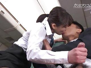 Footjob Haruka Miura Fight Attendance Special Service Part 2