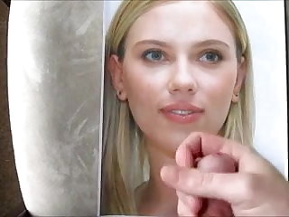 My Big Cum Tribute To Scarlett Johansson Scarlett Johansson