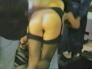 Spanking British Lady Traffic Cop at the Spanking Club
