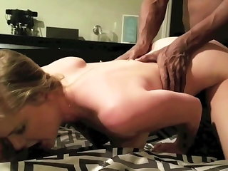 Maid Vegas hotwife has great fuck with BBC bull