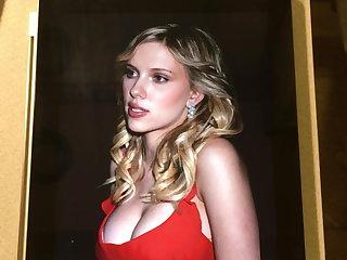 Scarlett Johansson - Cum Tribute 1 Scarlett Johansson