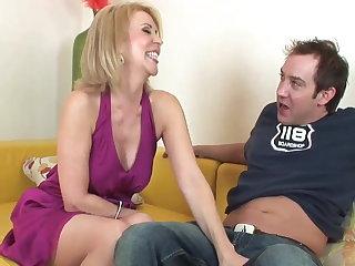 Good looking mature lady Erica Lauren wants a young dick Erica Lauren