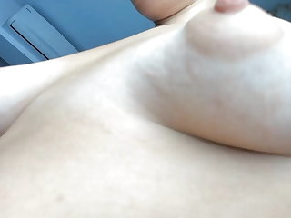 Puffy Nipples Girl Has Special Small Puffy Boobs