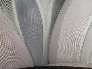 Hardcore sitting in my wet girdle