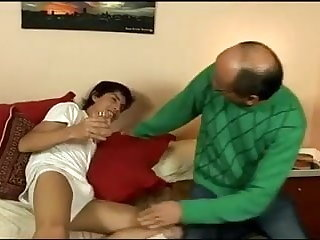 Old+Young Cute latin twink & dad homemade fuck