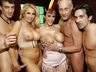 Orgy Group Fuck Site - A Transatlantic Orgy