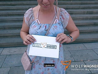 Pick Up 29 year old MILF JANA SCHWARZ picked up & banged WOLF WAGNER