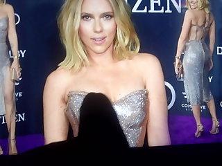 Cumtribute Scarlett Johansson Scarlett Johansson