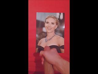 Scarlett Johansson - Cum tribute #3 Scarlett Johansson