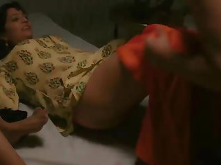 Indian desi bhabhi threesome with devar indian web series