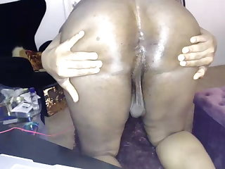 JOI Spread your wet hair ass and show me your cum on cam please