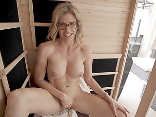 Cheating Naked Sauna Fun With My Friend's Hot Mom Part 5 Cory Chase
