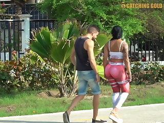 Venezuelan Destroying A Venezuelan Girl's Big Ass With Anal Sex