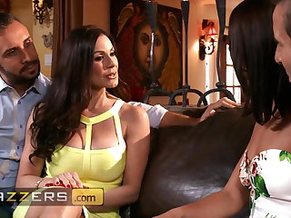 Gorgeous Girls Adriana Chechik and Kendra Lust Share A Huge Dick Kendra Lust
