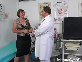 Medical Horny Czech countrywoman examined by freaky doctor