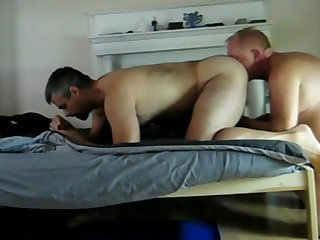 Tall daddy gets fucked