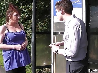 Pick Up Fuck date with super-hot busty plumper