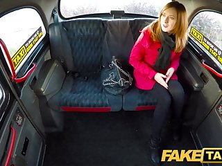 Redheads Fake Taxi Linda Sweet fucked by drivers big cock